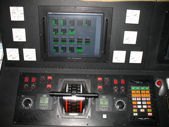 Old Control Panel Levers : Ms chi cheemaun